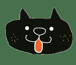 Kurosuke of Black cat sticker #8048469