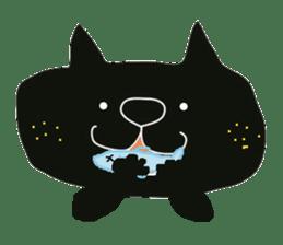 Kurosuke of Black cat sticker #8048474