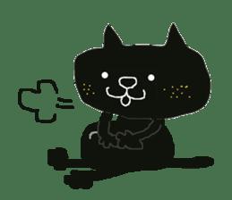 Kurosuke of Black cat sticker #8048475