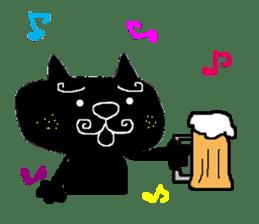 Kurosuke of Black cat sticker #8048478