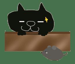 Kurosuke of Black cat sticker #8048484