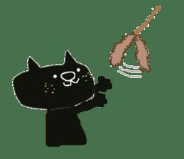 Kurosuke of Black cat sticker #8048489