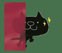 Kurosuke of Black cat sticker #8048490