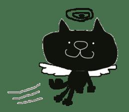 Kurosuke of Black cat sticker #8048491