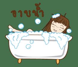 chill girl sticker #8049119