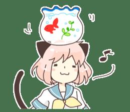 Cat ear girl Necoco part2 sticker #8053328