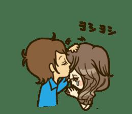 Cute Couples3 sticker #8060416