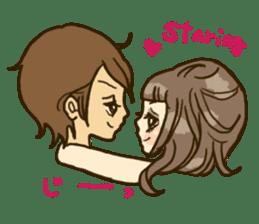 Cute Couples3 sticker #8060419
