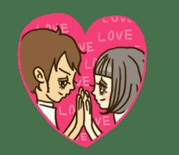 Cute Couples3 sticker #8060423