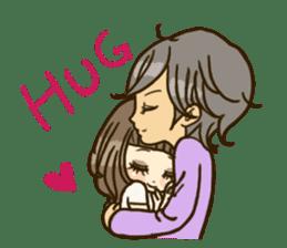 Cute Couples3 sticker #8060424