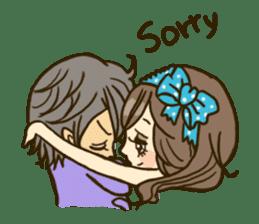 Cute Couples3 sticker #8060425