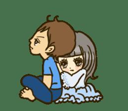 Cute Couples3 sticker #8060429