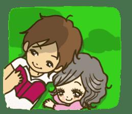 Cute Couples3 sticker #8060431
