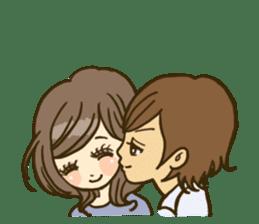 Cute Couples3 sticker #8060434