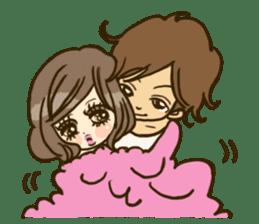 Cute Couples3 sticker #8060436