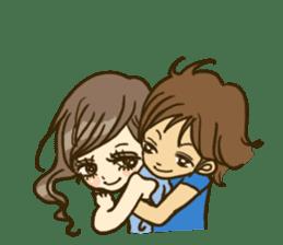 Cute Couples3 sticker #8060437