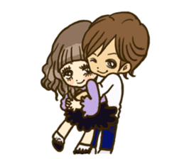 Cute Couples3 sticker #8060441