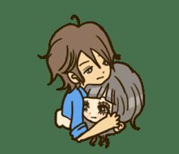 Cute Couples3 sticker #8060442