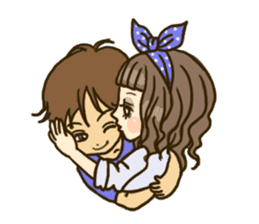 Cute Couples3 sticker #8060446