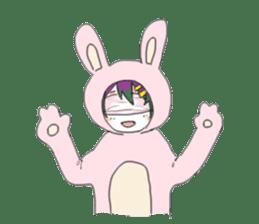 Mask boy sticker #8066189