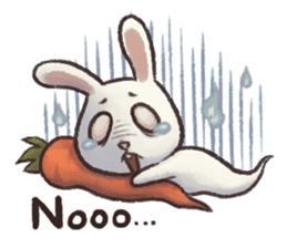 The Ghost Bunny sticker #8066242