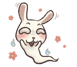The Ghost Bunny sticker #8066244