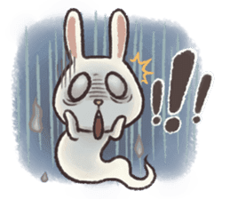 The Ghost Bunny sticker #8066245