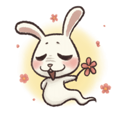 The Ghost Bunny sticker #8066246