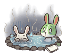 The Ghost Bunny sticker #8066255