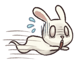 The Ghost Bunny sticker #8066263
