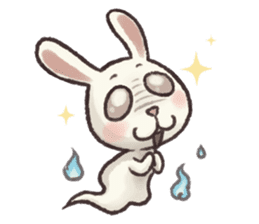 The Ghost Bunny sticker #8066268