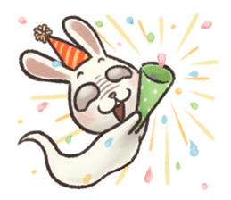The Ghost Bunny sticker #8066271