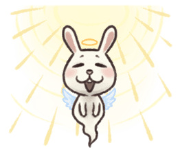 The Ghost Bunny sticker #8066275