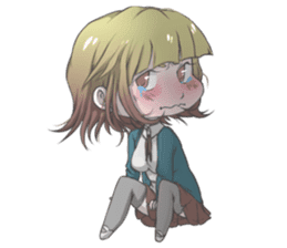 Cute Anime Girls For Your Everyday Life! sticker #8067284