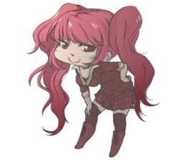 Cute Anime Girls For Your Everyday Life! sticker #8067286