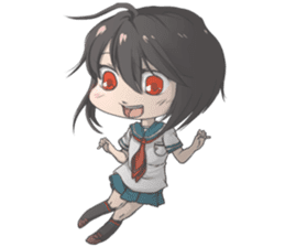 Cute Anime Girls For Your Everyday Life! sticker #8067289