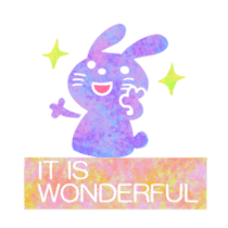 Colorful sticker of the spotted design sticker #8070166