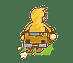Funny mole sticker #8073911