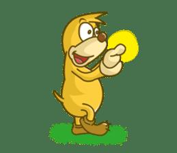Funny mole sticker #8073946