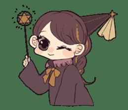 Little witch's sticker sticker #8074070