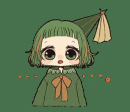 Little witch's sticker sticker #8074078