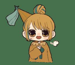 Little witch's sticker sticker #8074081