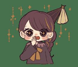 Little witch's sticker sticker #8074085