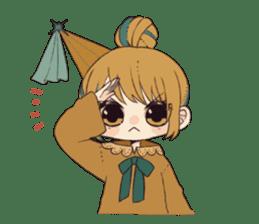 Little witch's sticker sticker #8074086