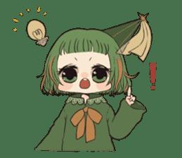 Little witch's sticker sticker #8074088