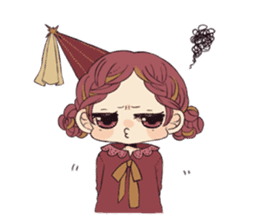 Little witch's sticker sticker #8074089