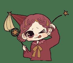 Little witch's sticker sticker #8074094