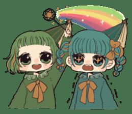 Little witch's sticker sticker #8074103