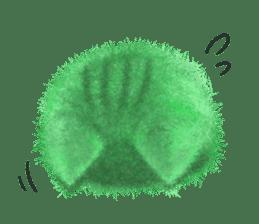 Fluffy balls (3) cat sticker #8075812