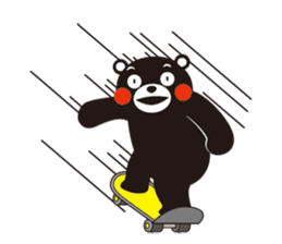 Official Kumamon Stamp sticker #8076208